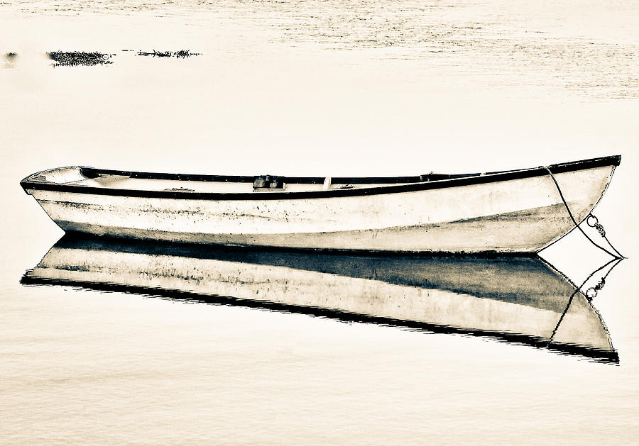 Boat To No Where. Photograph  - Boat To No Where. Fine Art Print