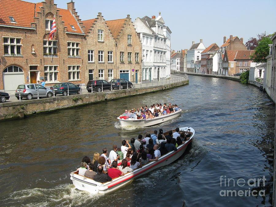 Boat Tours Bruges Belgium