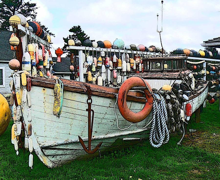 Boat Yard Photograph
