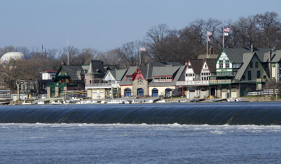 Boathouse Row - Philadelphia Photograph  - Boathouse Row - Philadelphia Fine Art Print