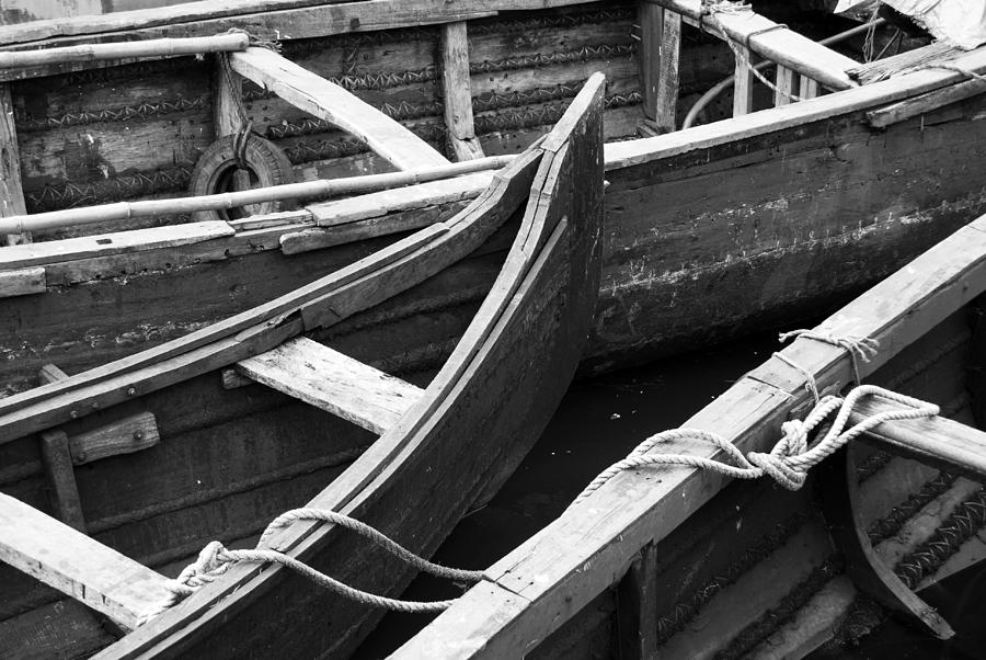 Boats In Cochin Photograph