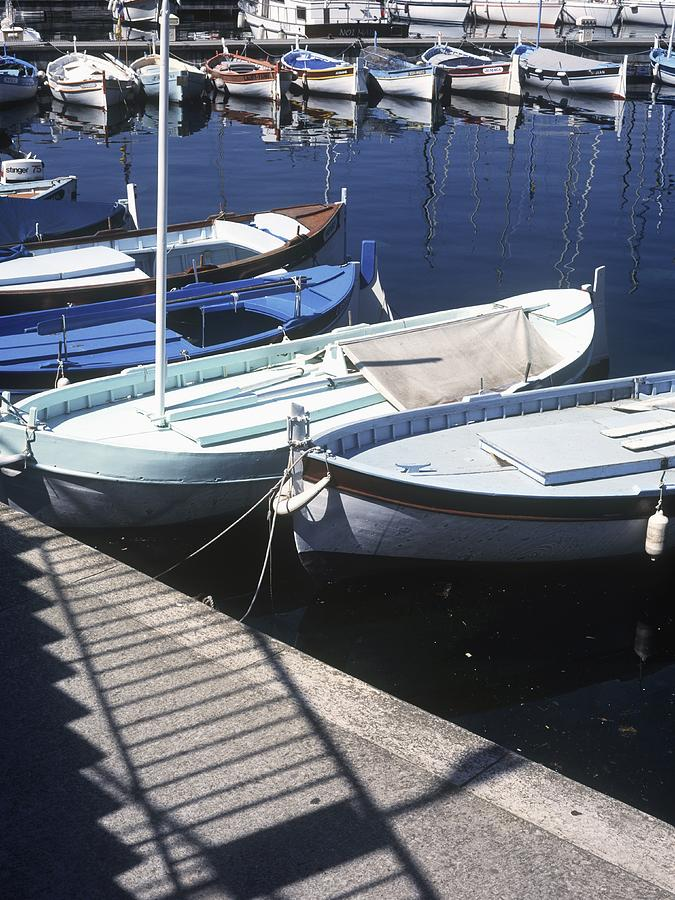 Boats In Harbor Photograph