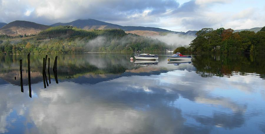 Boats On Derwentwater II Photograph  - Boats On Derwentwater II Fine Art Print