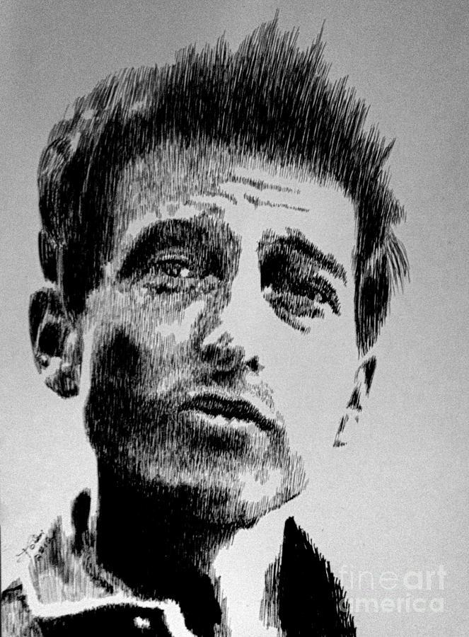 Bob Dylan Drawing