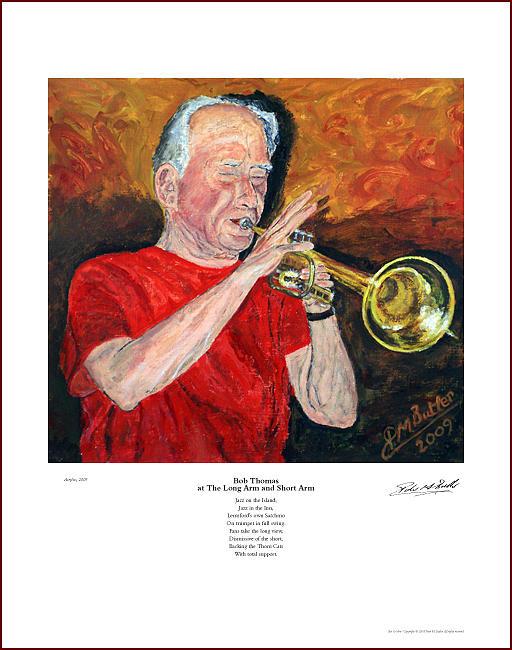 Bob Thomas At The Long Arm And Short Arm Painting