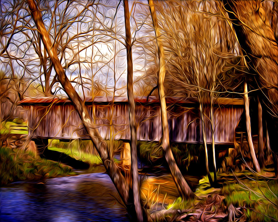 Bob White Covered Bridge Photograph