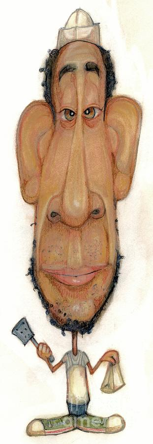 Bobblehead No 66 Drawing