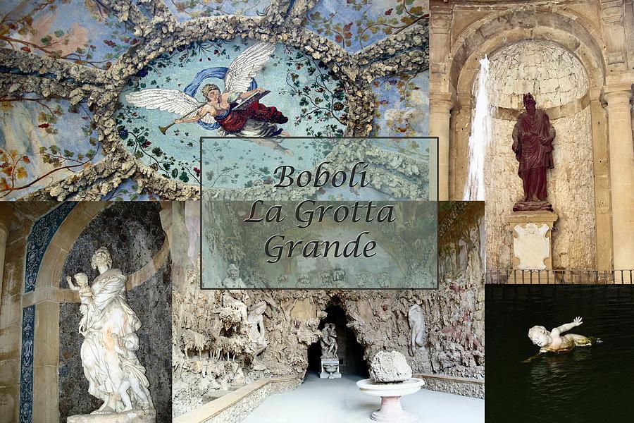 Boboli La Grotta Grande 2 Photograph