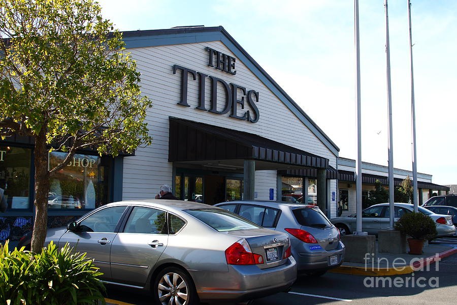 Bodega Bay . Town Of Bodega . The Tides Wharf Restaurant . 7d12412 Photograph  - Bodega Bay . Town Of Bodega . The Tides Wharf Restaurant . 7d12412 Fine Art Print