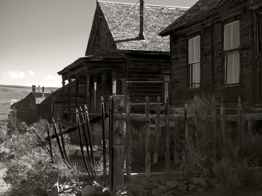 Bodie Cabins 3 Photograph