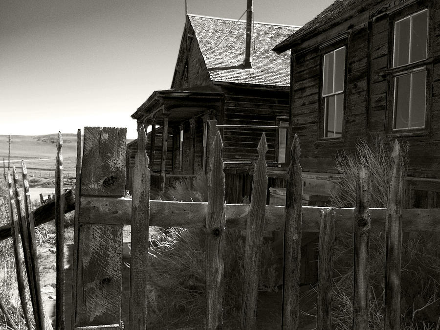 Bodie Cabins 4 Photograph