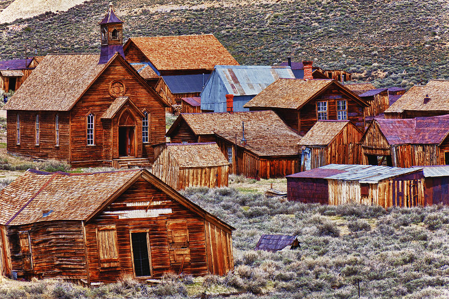 Bodie Photograph - Bodie Ghost Town California by Garry Gay