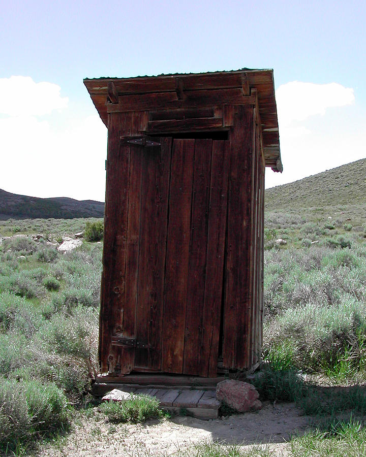 Bodie Outhouse 1 Photograph