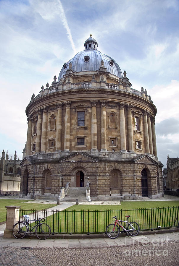 Bodlien Library Radcliffe Camera Photograph  - Bodlien Library Radcliffe Camera Fine Art Print