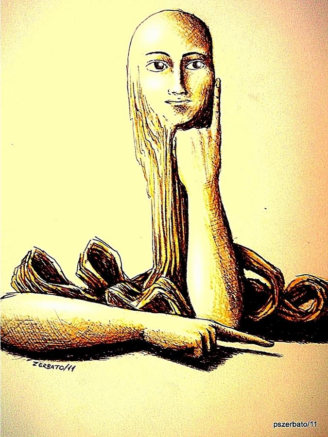 Body Language Digital Art