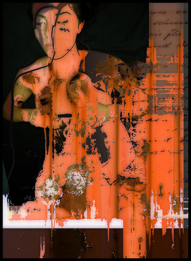 Body Of Rust Digital Art  - Body Of Rust Fine Art Print