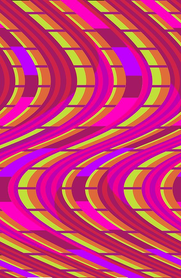 Bold Swirl  Digital Art