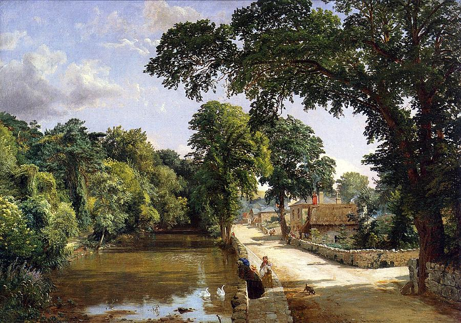 Bonchurch Isle Of Wight Painting