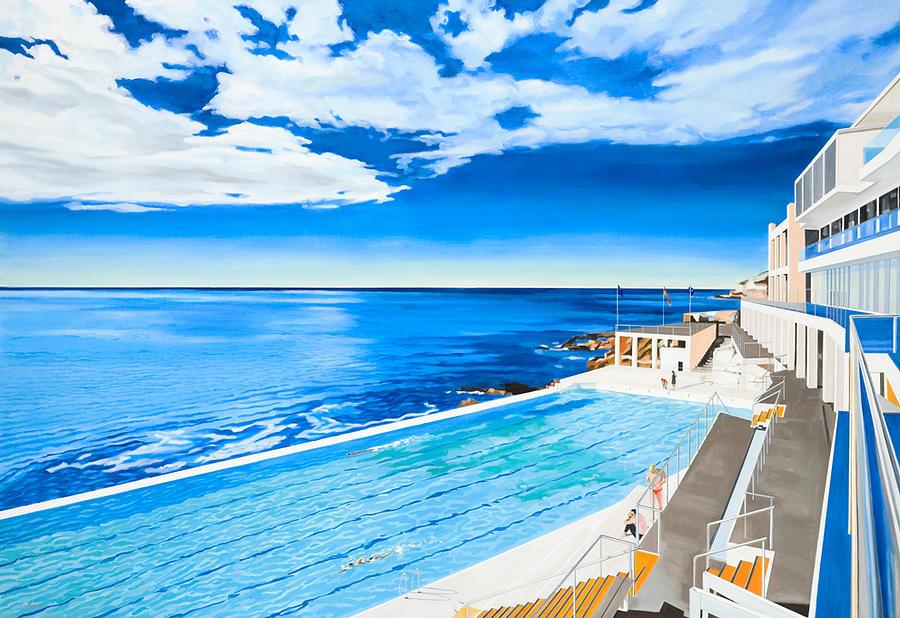 Bondi Beach Icebergs Pool by Alexander Lavroff