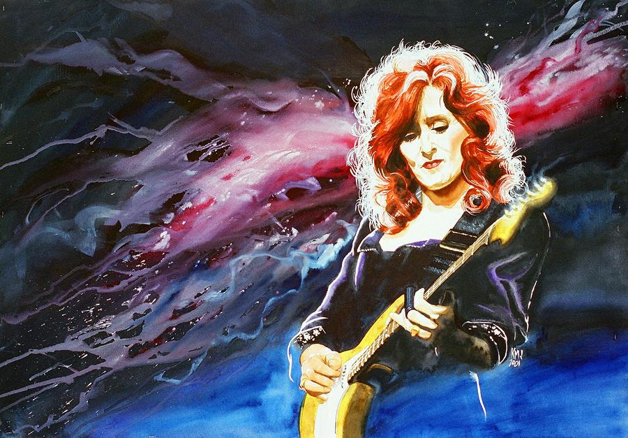 Bonnie Raitt Painting