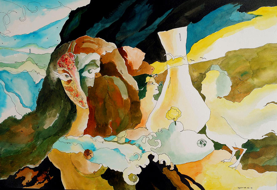 Bonolota Sen 1  Painting