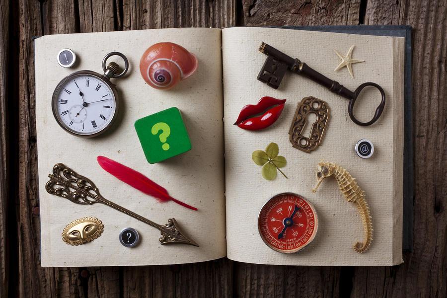Book Of Secrets Photograph