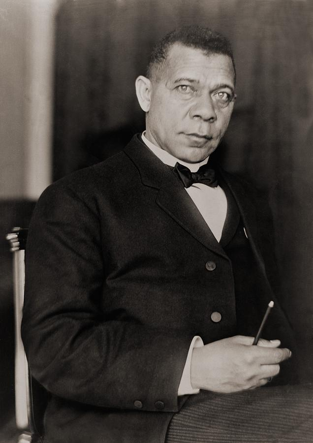 Booker T. Washington 1856-1915, Became Photograph  - Booker T. Washington 1856-1915, Became Fine Art Print