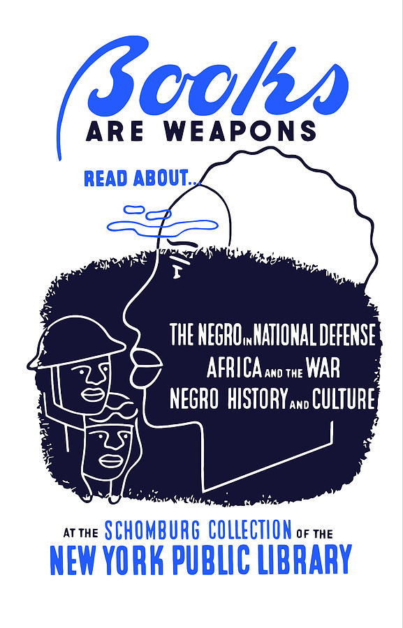 Books Are Weapons Digital Art  - Books Are Weapons Fine Art Print