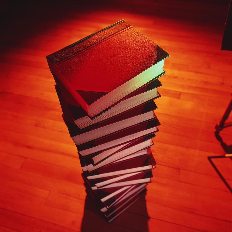 Books Photograph - Books by Tek Image