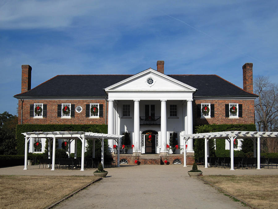 Boone Hall Plantation Charleston Sc Photograph