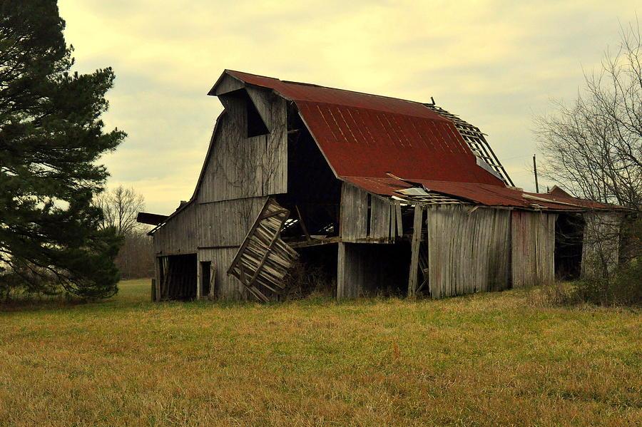 Barn Photograph - Bootheel Barn by Marty Koch