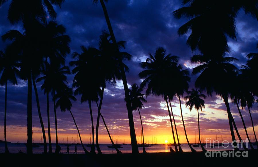Boqueron Sunset Photograph