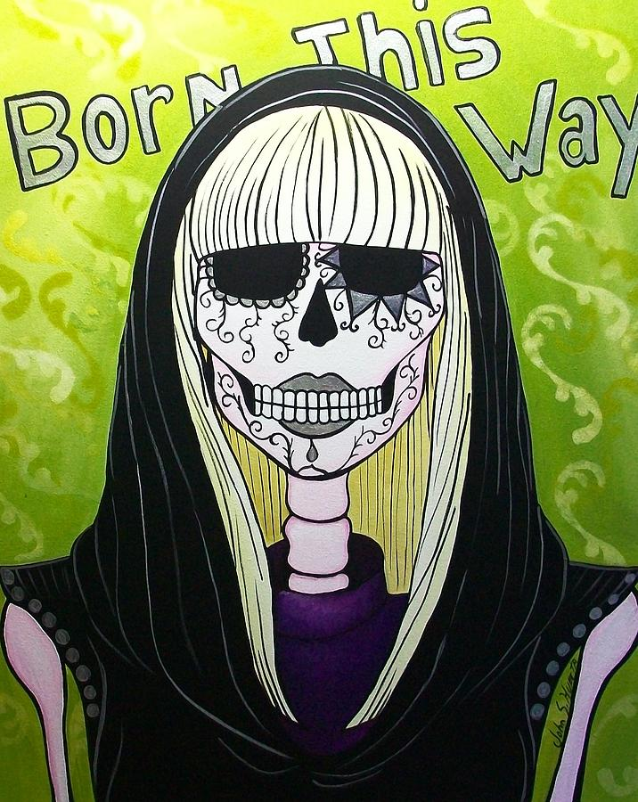 Born This Way  Painting  - Born This Way  Fine Art Print