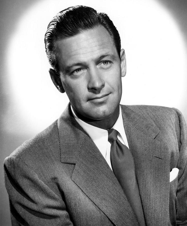 Born Yesterday, William Holden, 1950 Photograph  - Born Yesterday, William Holden, 1950 Fine Art Print