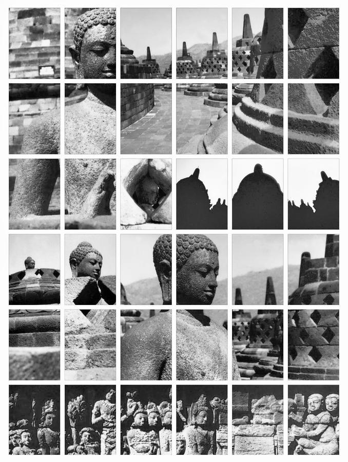 Borobudur In Frame Photograph