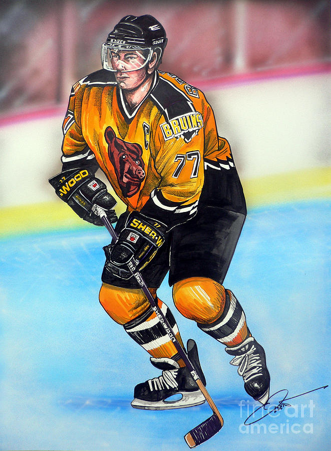 Boston Bruins Ray Bourque Painting