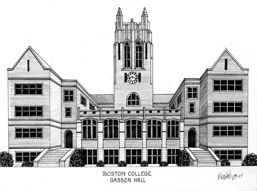 Boston College Drawing