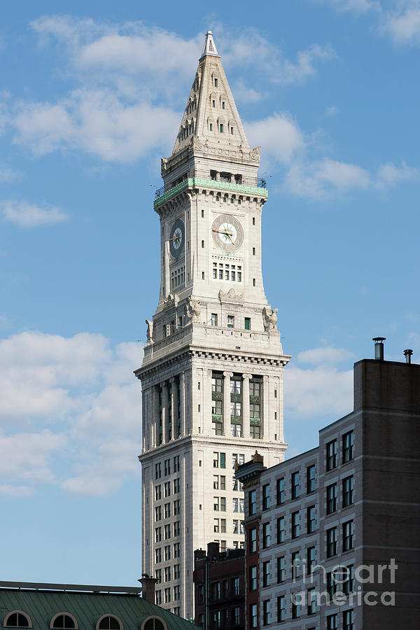 Boston Custom House Tower Photograph  - Boston Custom House Tower Fine Art Print