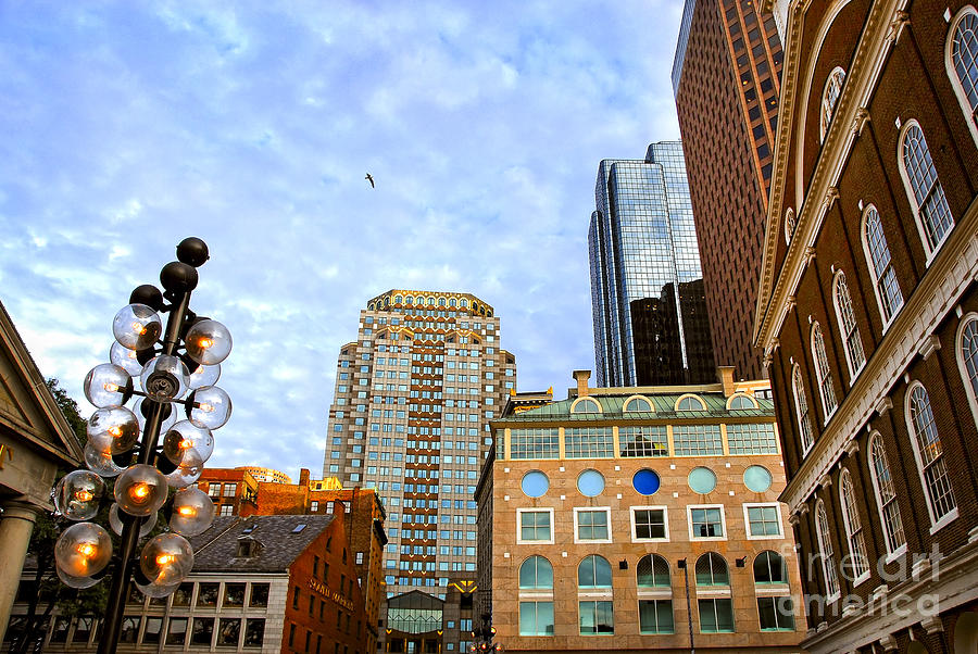 Boston Downtown Photograph  - Boston Downtown Fine Art Print