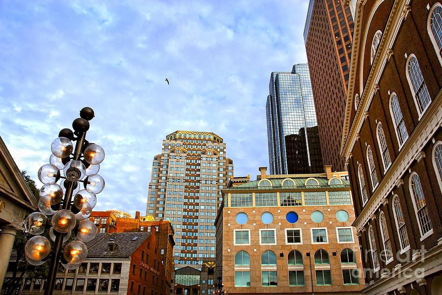 Boston Downtown Photograph