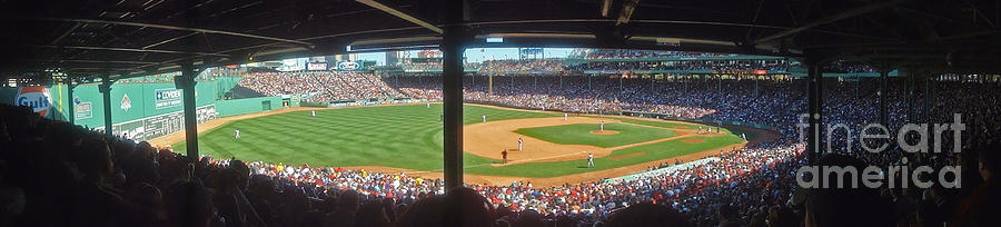Boston Fenway Park Photograph