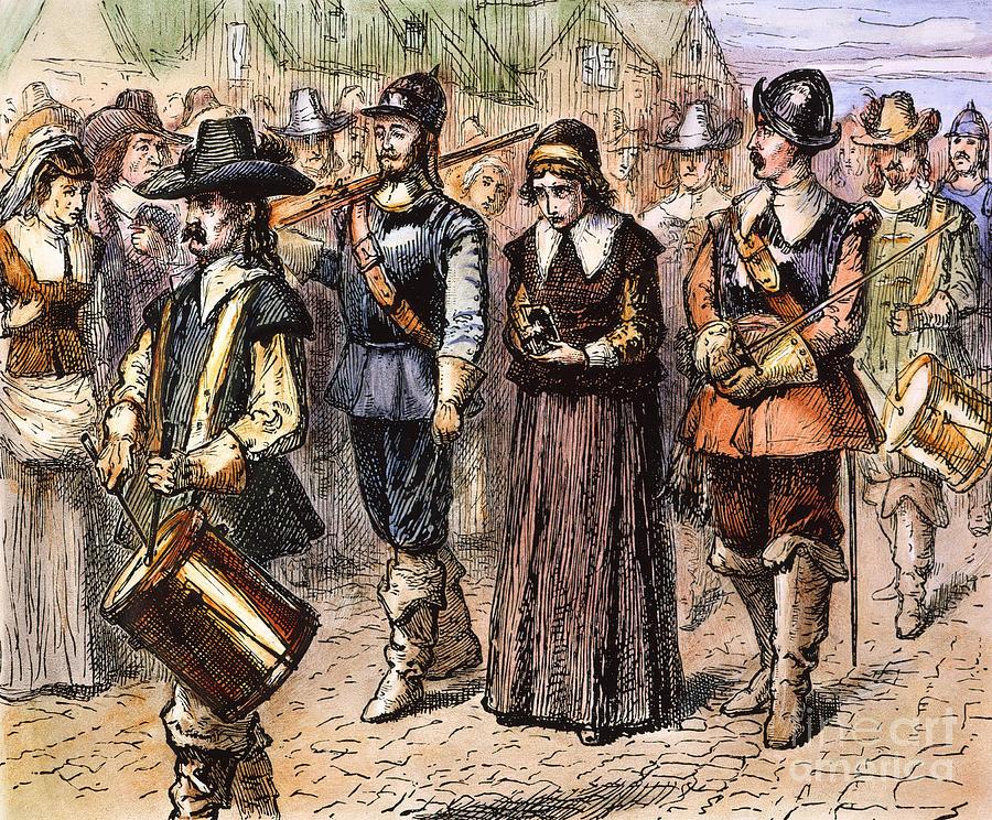 Boston: Mary Dyer, 1660 Photograph