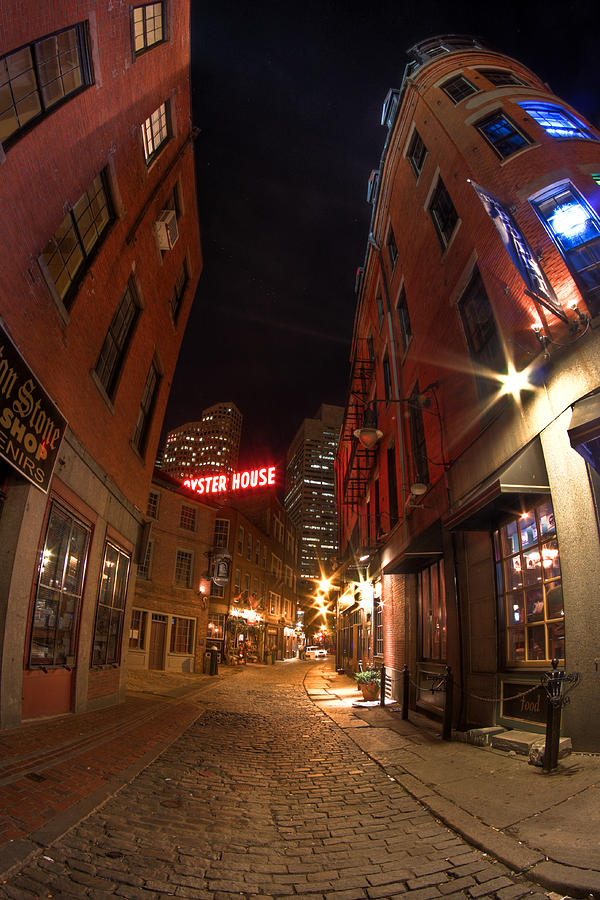 Boston Street Photograph  - Boston Street Fine Art Print
