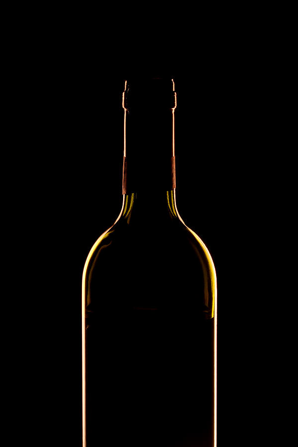 Bottle Of Wine Photograph  - Bottle Of Wine Fine Art Print