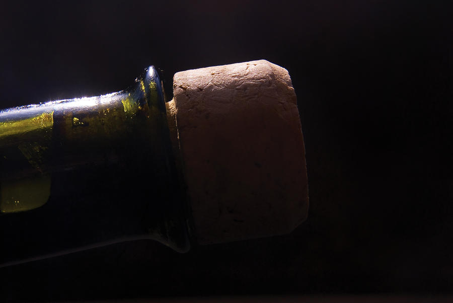 bottle top and Cork Photograph