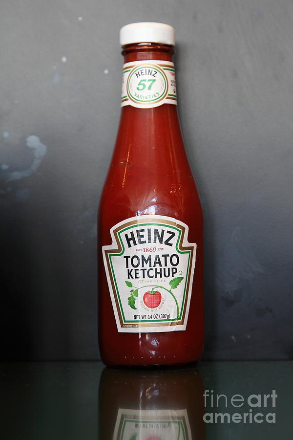 Bottled Ketchup - 5d18039 Photograph