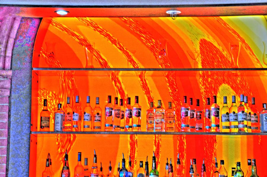 Bottles Digital Art  - Bottles Fine Art Print