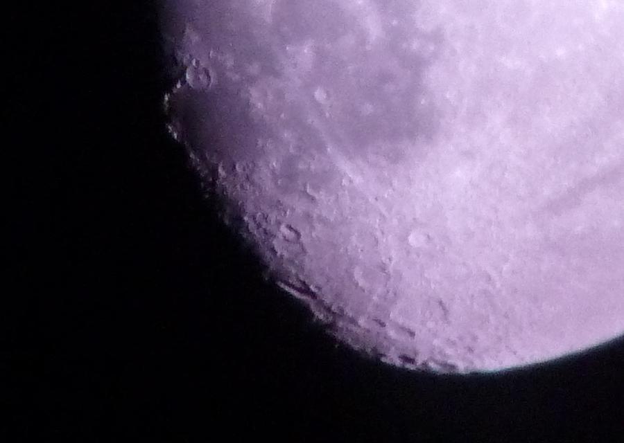 Bottom Of The Moon Photograph