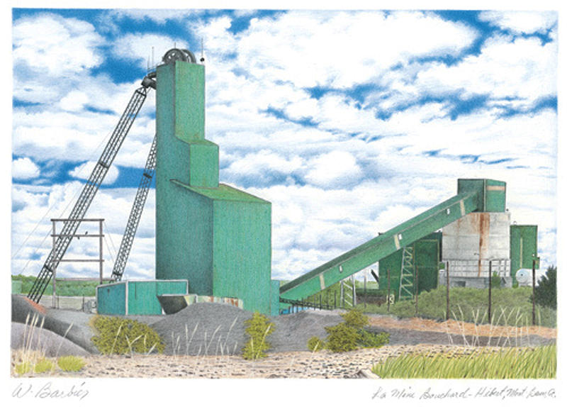 Bouchard Hebert Mining Drawing