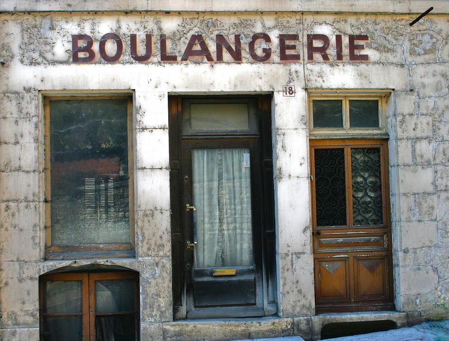 Boulangerie Photograph